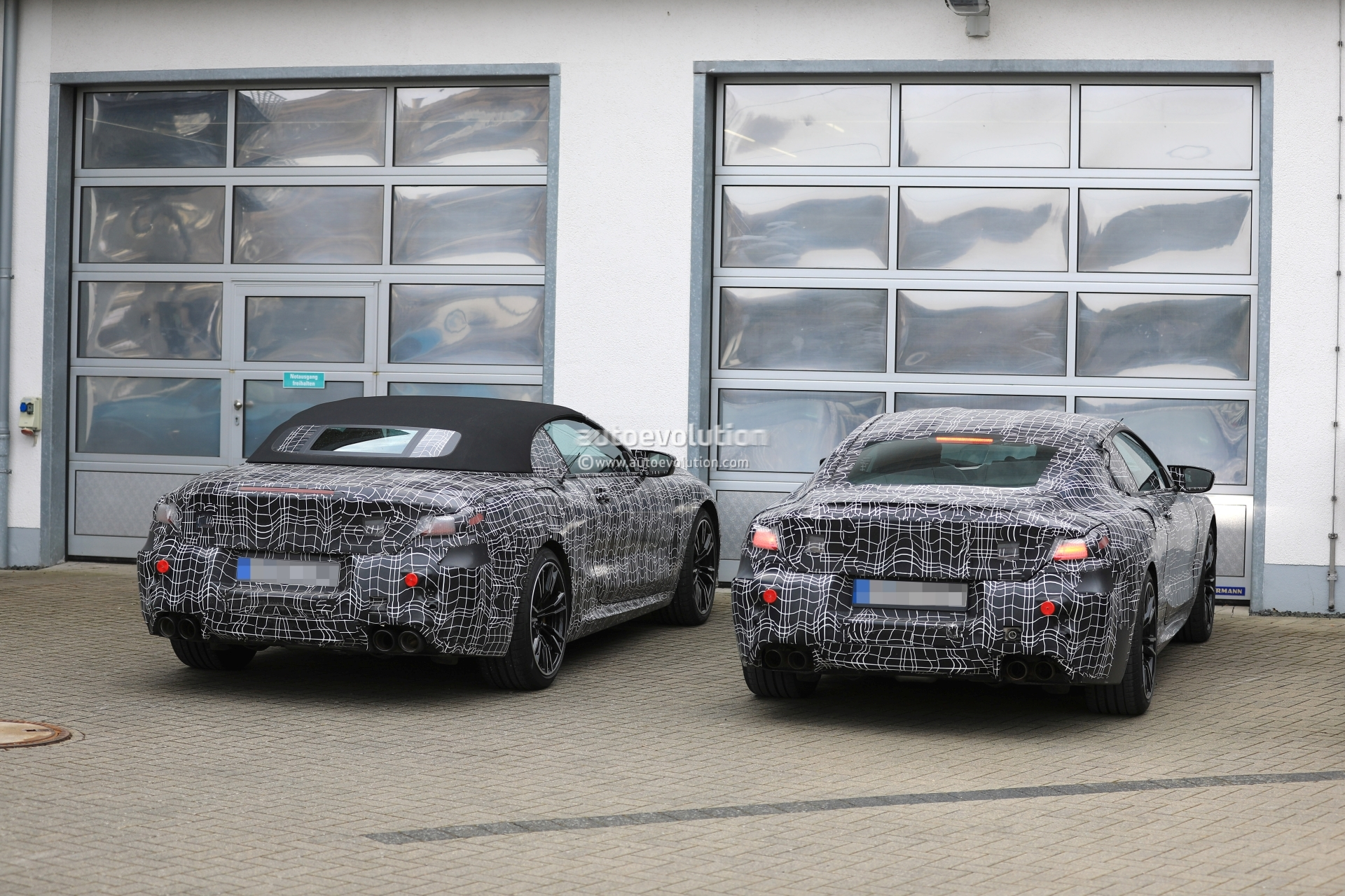 Spyshots 2019 Bmw M8 Coupe And Cabriolet Nurburgring Comparison