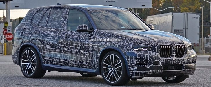 Spyshots 2019 Bmw X5 And X5 M Show More Skin In
