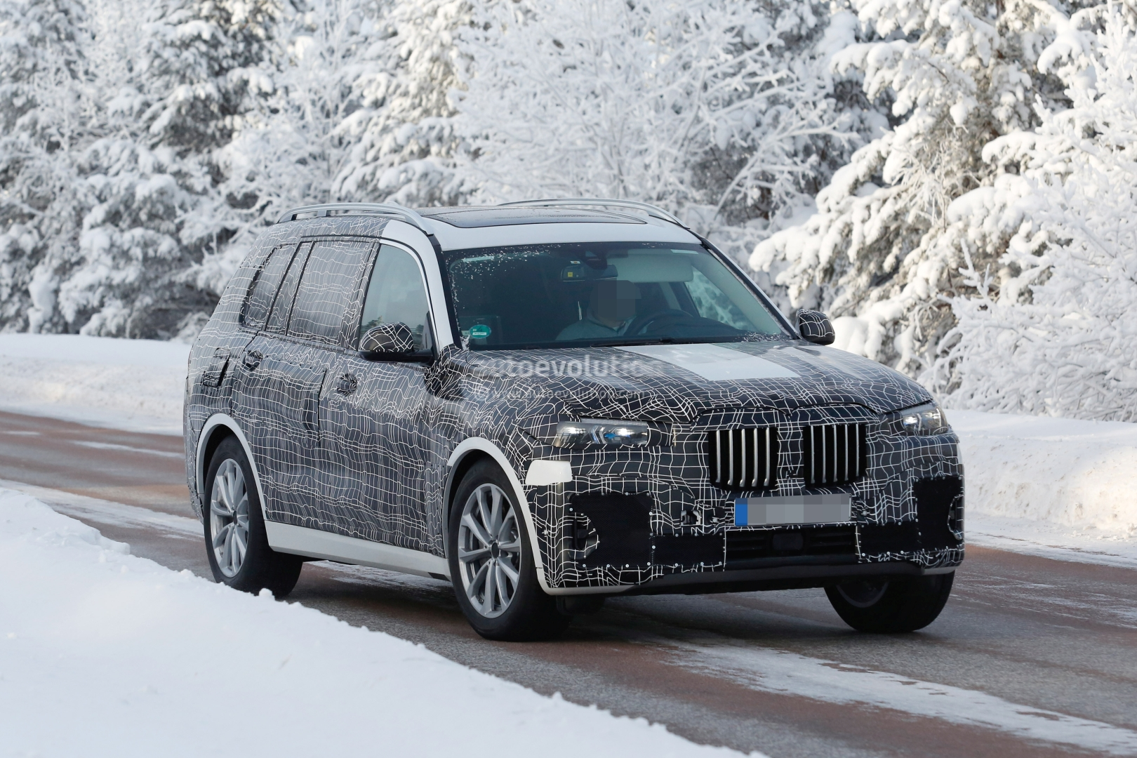 Spyshots 2019 Bmw X7 Shows Quot Great White Shark Quot Production