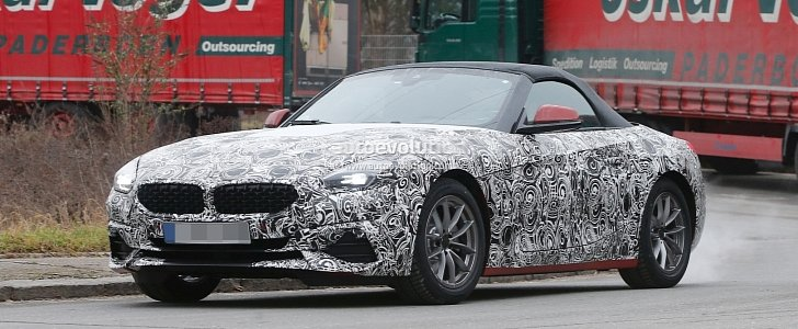 Spyshots 2019 Bmw Z4 Reveals New Details Plug In Hybrid Rumors Intensify Autoevolution