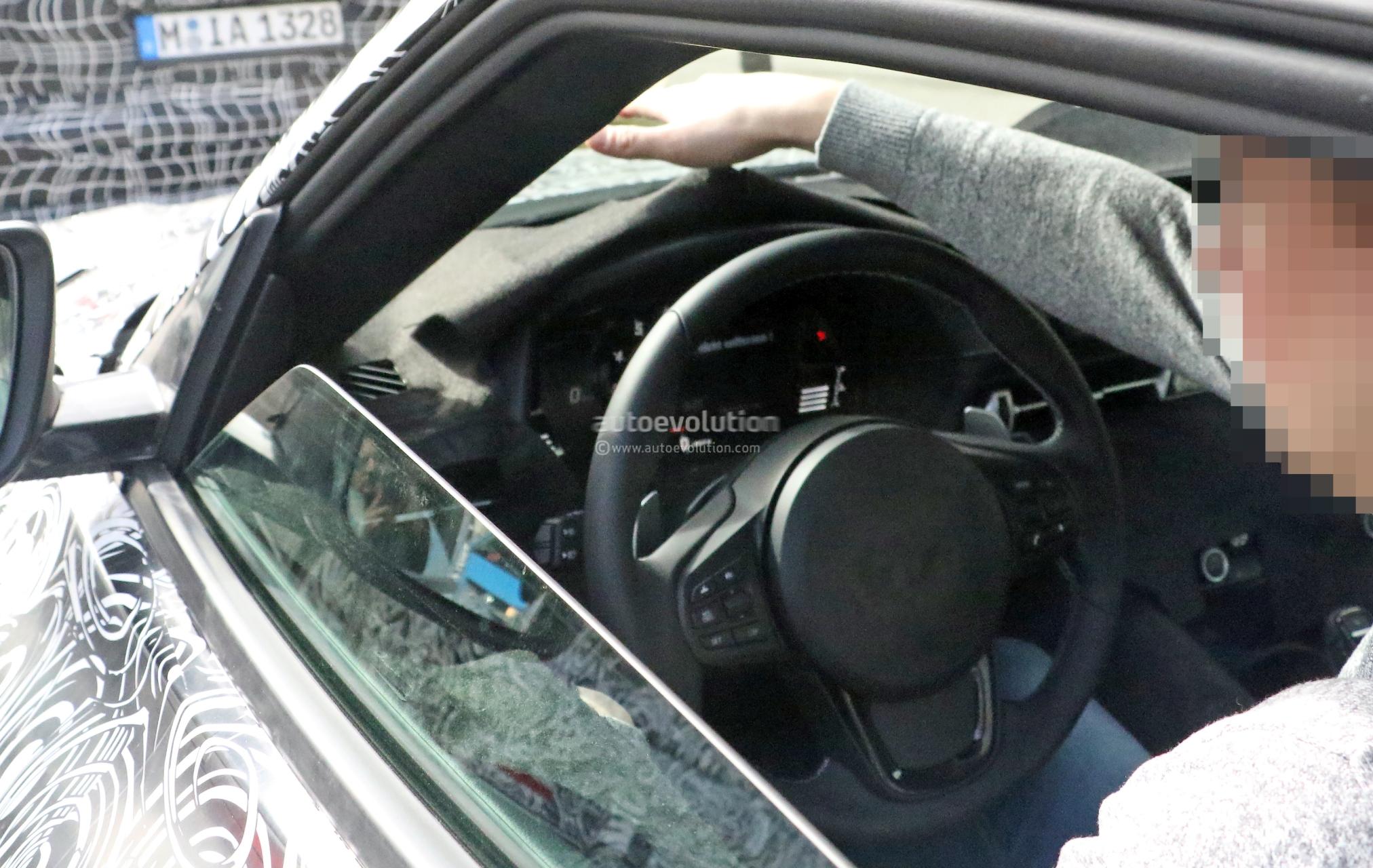 Spyshots 2019 Toyota Supra Interior Shown By Prototype