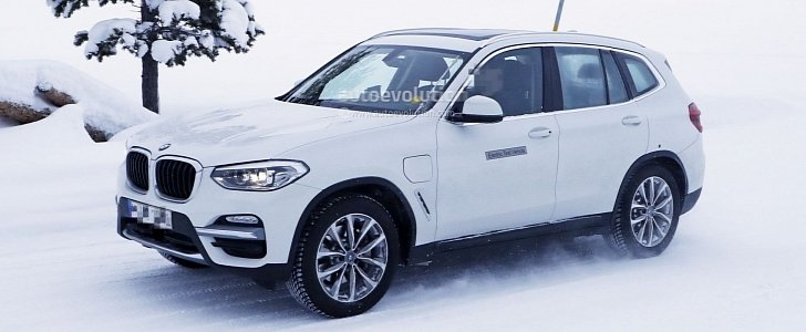 Spyshots 2020 Bmw Ix3 Electric Crossover Is Out For Mercedes Benz Eqc Blood Autoevolution