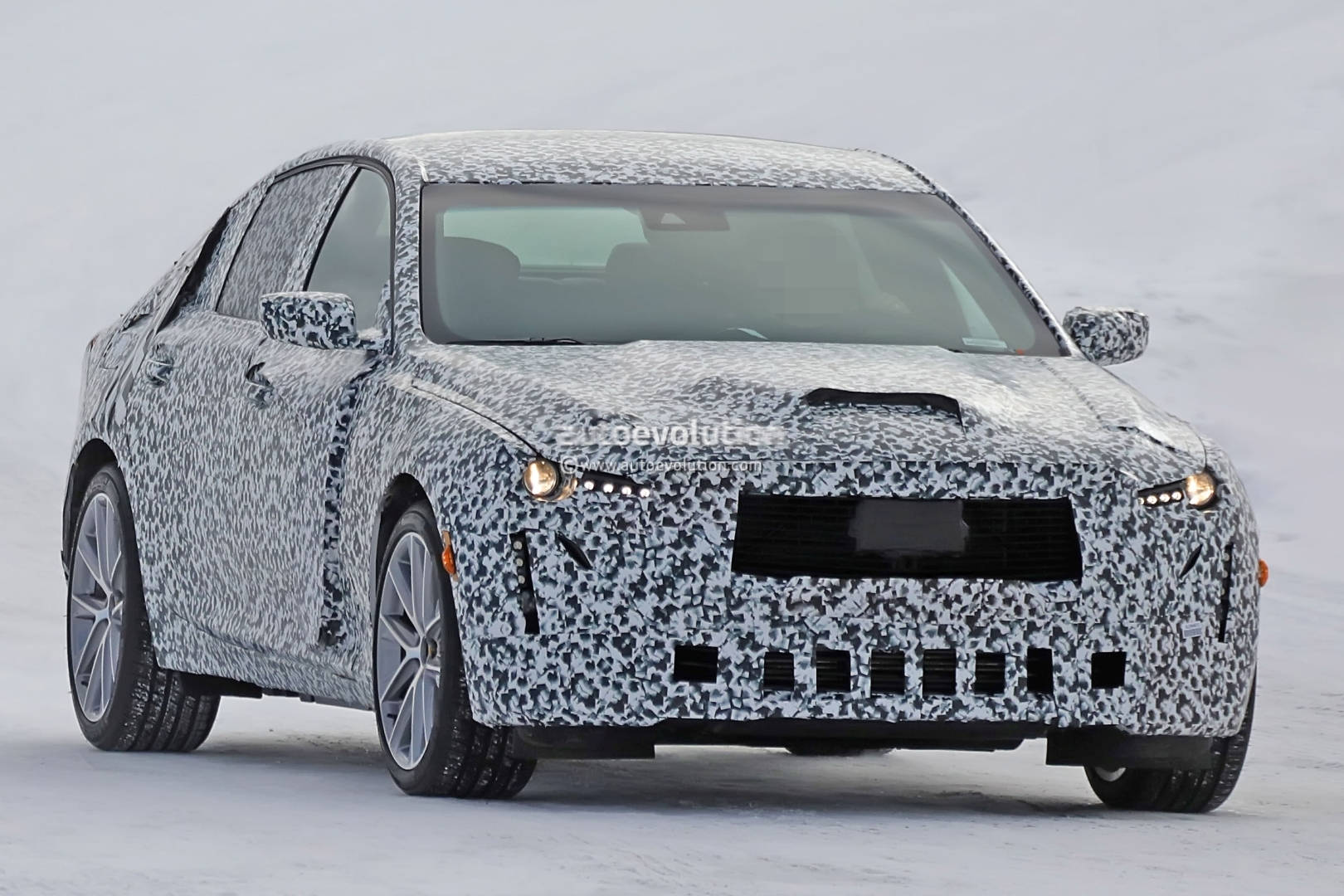 spyshots  2020 cadillac ct5 gets closer to production  will replace ats and cts