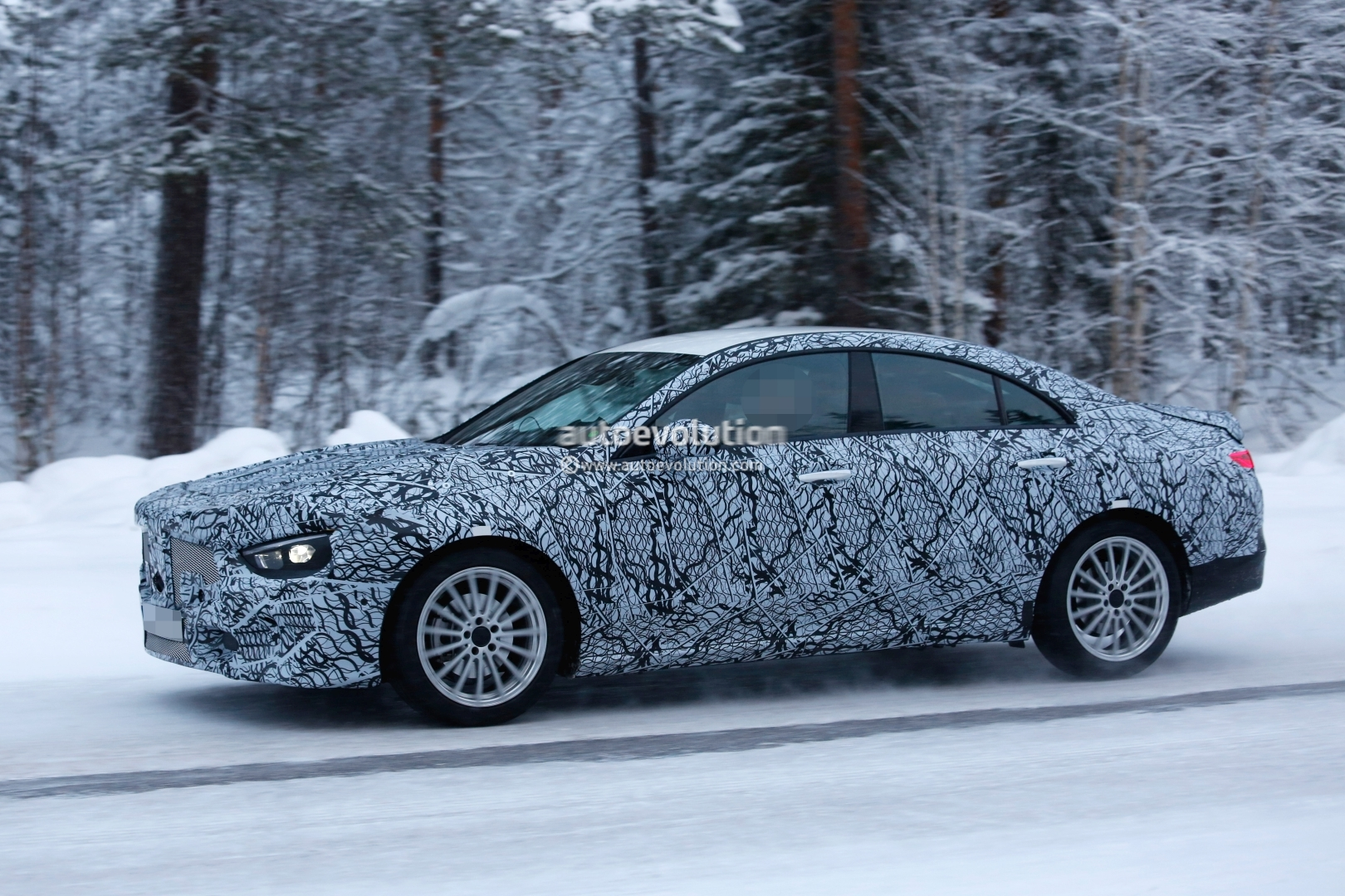 Spyshots: 2020 Mercedes-Benz CLA Shows Baby CLS Look ...