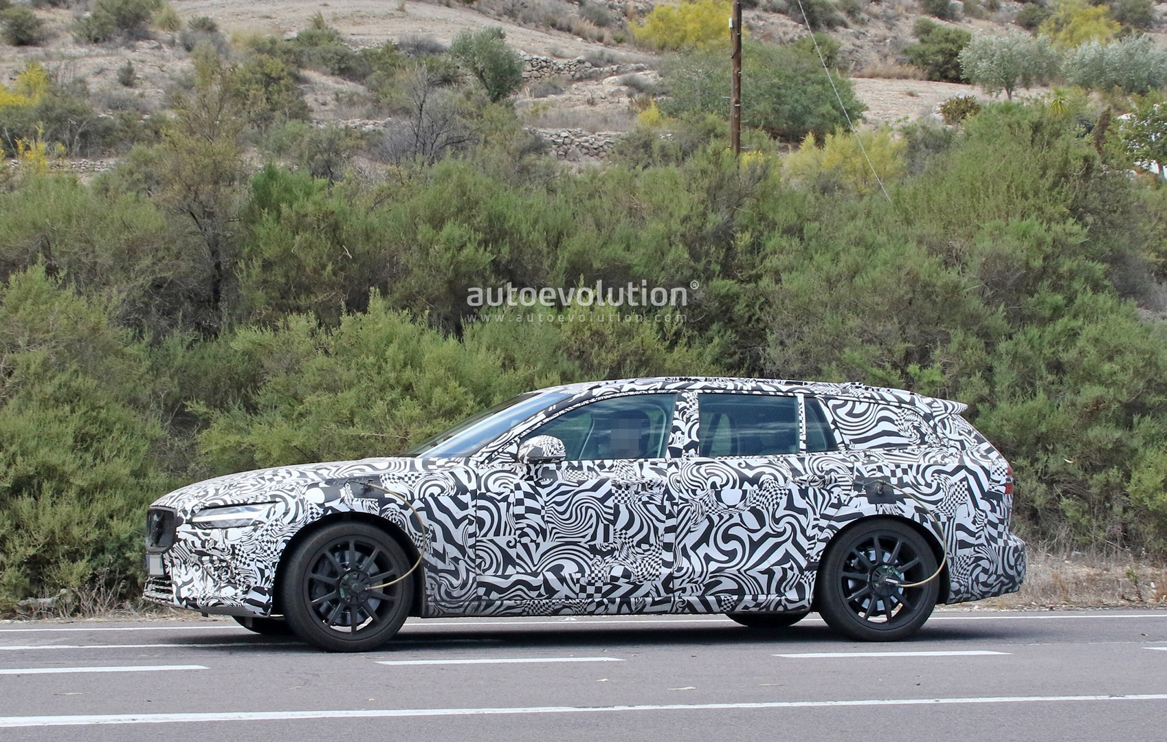 Spyshots 2020 Volvo V60 Polestar R Looks Like A Sleeper Wagon