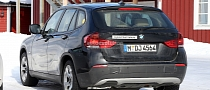 Spyshots: All-Electric BMW X1