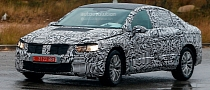 Spyshots: All-New 2015 Volkswagen Passat Spotted for First Time
