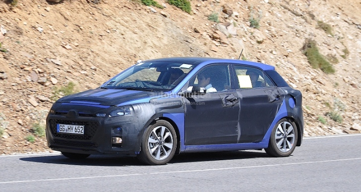 Spyshots: All-New Hyundai i20 Loses Some Camo