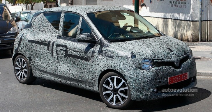 Spyshots: All-New Renault Twingo Spotted for First Time, Looks Like Twin'Run Concept
