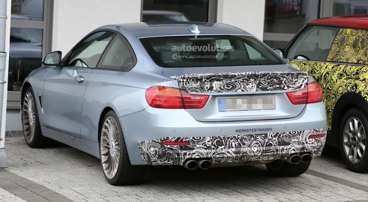 Spyshots: Alpina B4 Bi-Turbo Coupe Spied Up Close