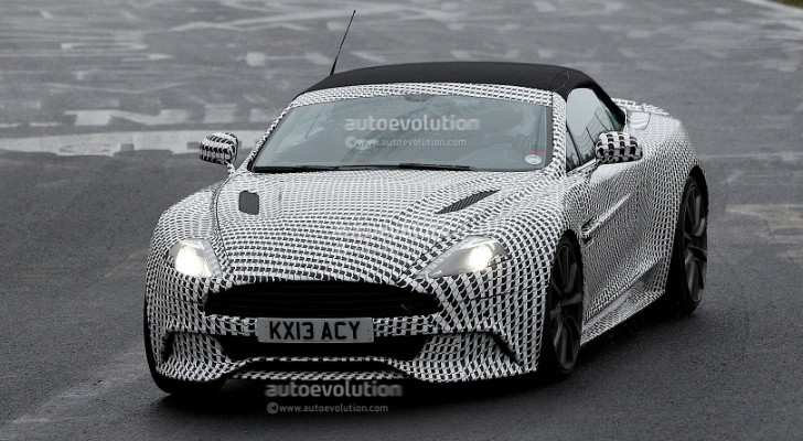 Spyshots: Aston Martin Vanquish Volante at the 'Ring