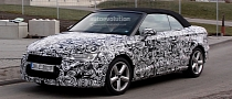 Spyshots: Audi A3 Cabrio with Less Camo