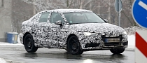Spyshots: Audi A3 Sedan Winter Testing