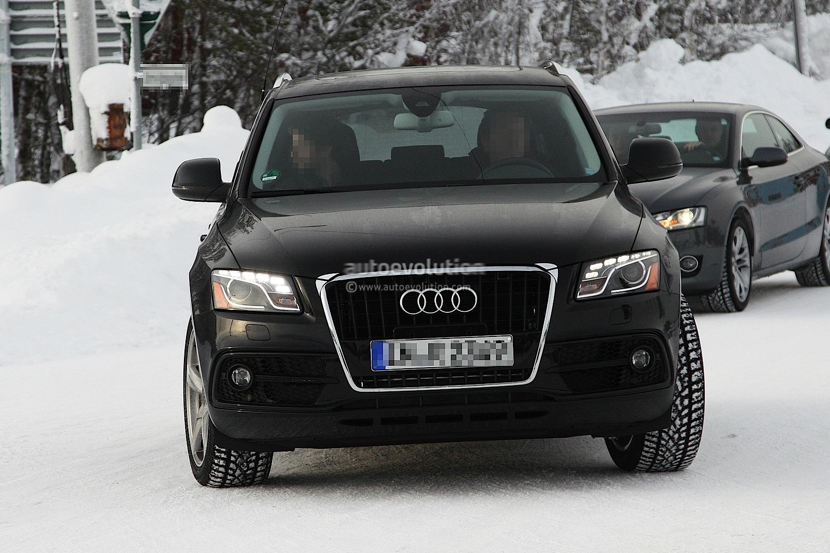 Spyshots Audi Q5 Facelift Autoevolution