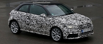 Spyshots: Audi S1 Spotted Again as a 3-Door