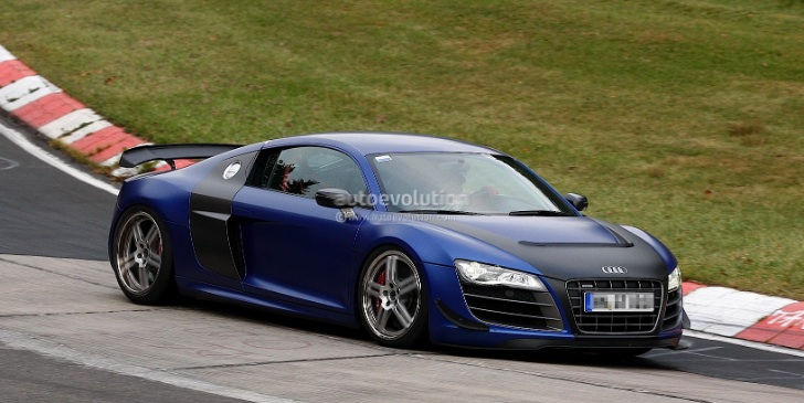 Spyshots: Audi Working on Road-Legal R8 GT3?