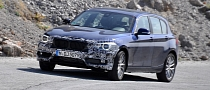 Spyshots: BMW 1 Series Facelift in the Works