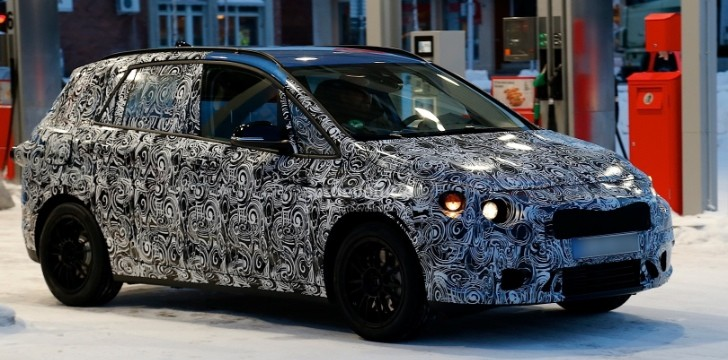 Spyshots: BMW 1-Series GT Winter Testing