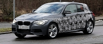 Spyshots: BMW 135i Hatchback M Performance