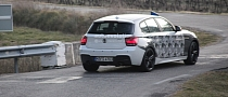 Spyshots: BMW 135i M Hatchback Spotted Again