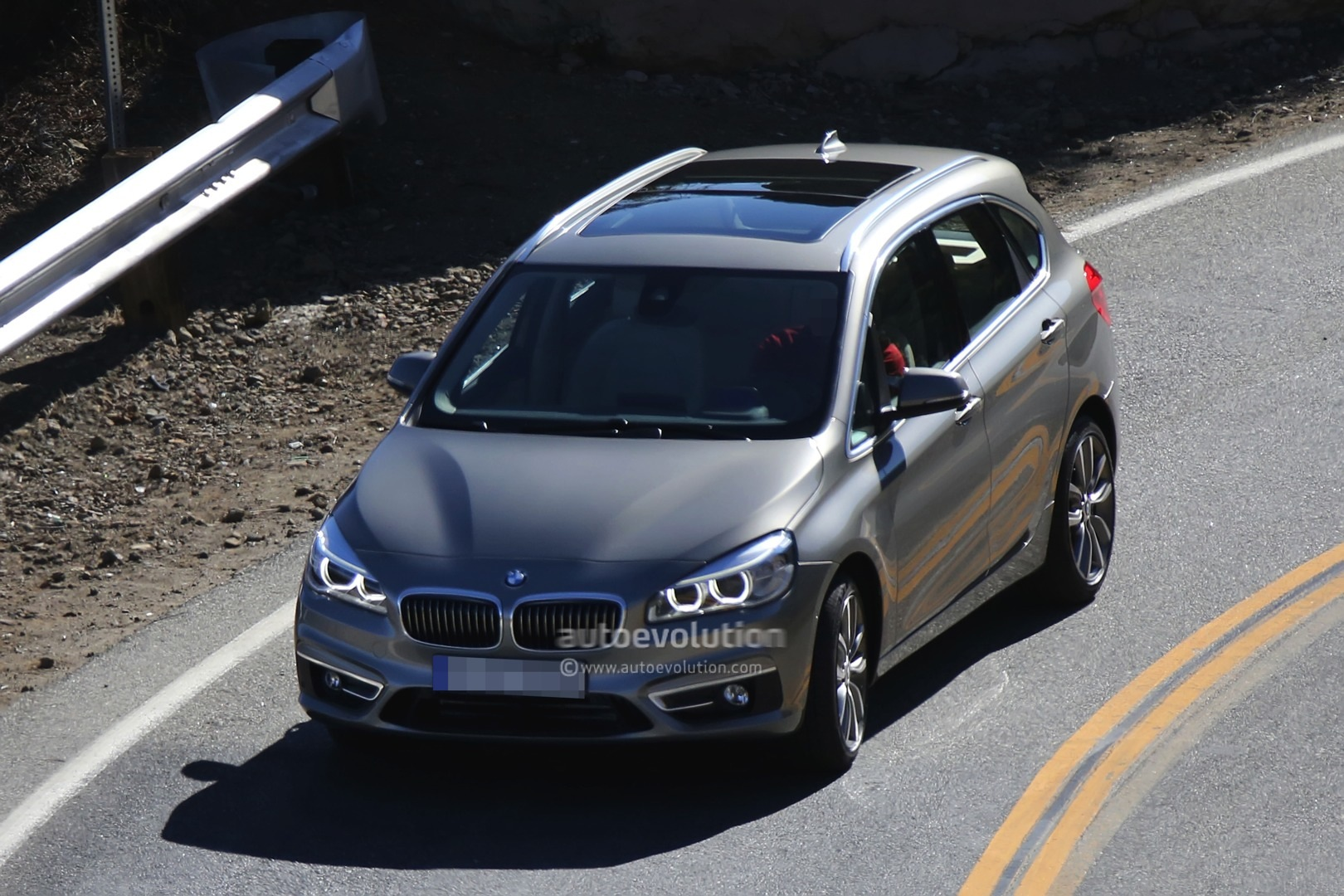 Spyshots BMW Series GT Is The Active Tourer Production Model - Bmw 225i
