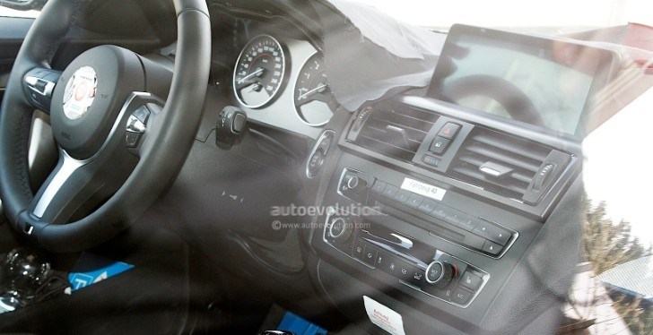 Spyshots: BMW 2 Series Interior Revealed