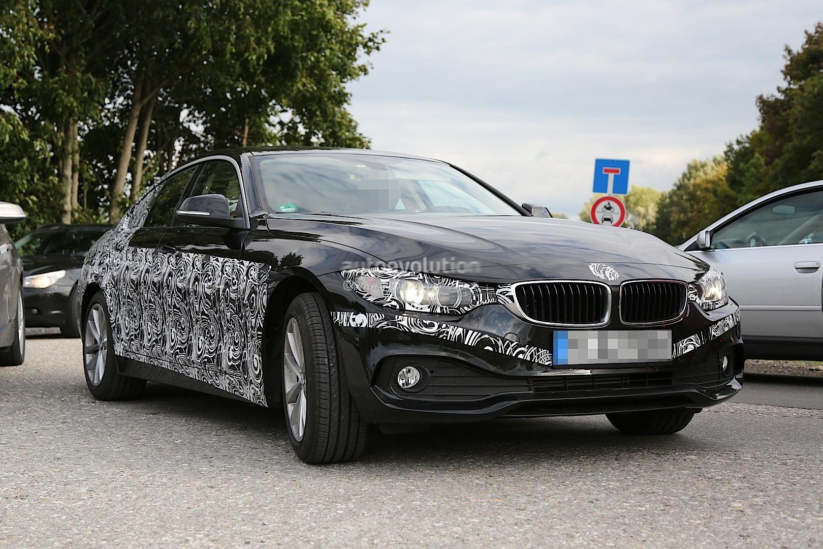 Spyshots BMW F36 4 Series Gran Coupe