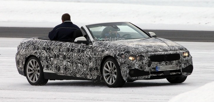 Spyshots: BMW 4 Series Testing With Top Down