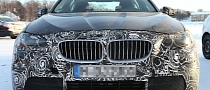 Spyshots: BMW 5-Series LCI Plug-in Hybrid