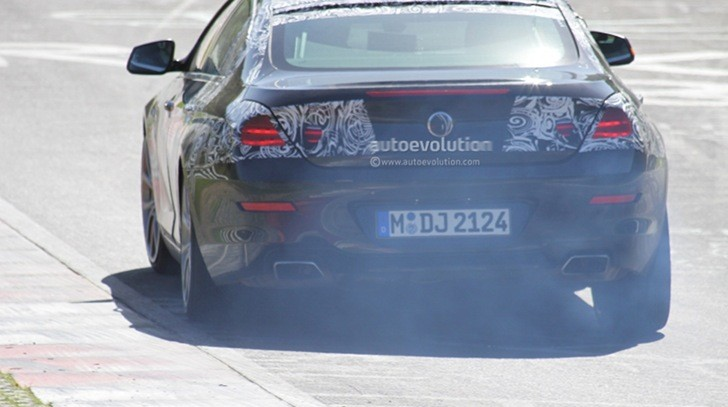Spyshots: BMW 6 Series Gran Coupe Drifting on the Nurburgring
