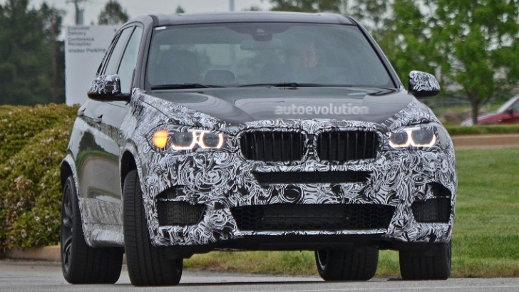 Spyshots: BMW F15 X5 M Shows New Details