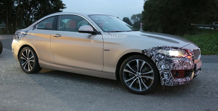 Spyshots: BMW F22 2 Series Coupe Almost Undisguised
