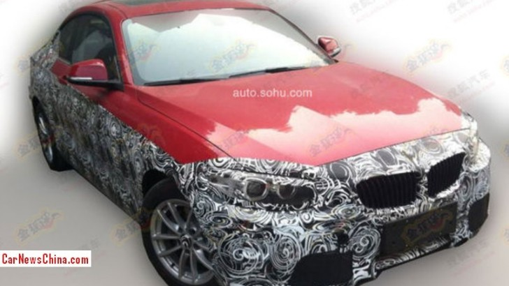 Spyshots: BMW F22 2 Series Coupe Testing in China