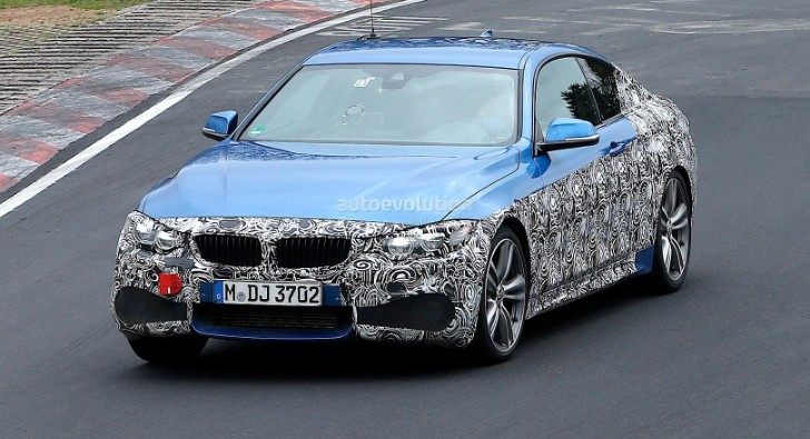 Spyshots: BMW F32 4 Series Coupe with M Sport Package ...