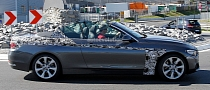 Spyshots: BMW F33 4 Series Cabrio with Minimal Camo and Roof Down