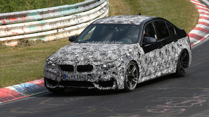 Spyshots: BMW F80 M3 Testing on the Nurburgring