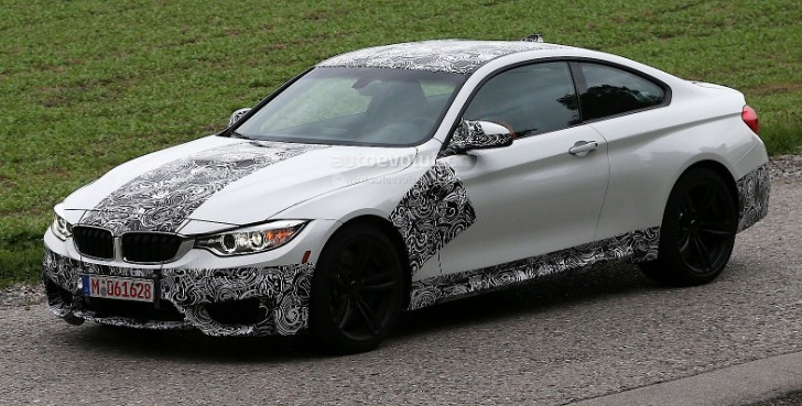 Spyshots: BMW F82 M4 Coupe Strolls Out Almost Camo-Free