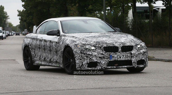 Spyshots: BMW F83 M4 Cabriolet Testing in Germany