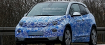 Spyshots: BMW i3 Shows a Little More