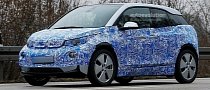 Spyshots: BMW i3 Test Prototype Inches Closer to Production