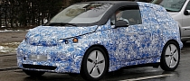 Spyshots: BMW i3 Winter Testing