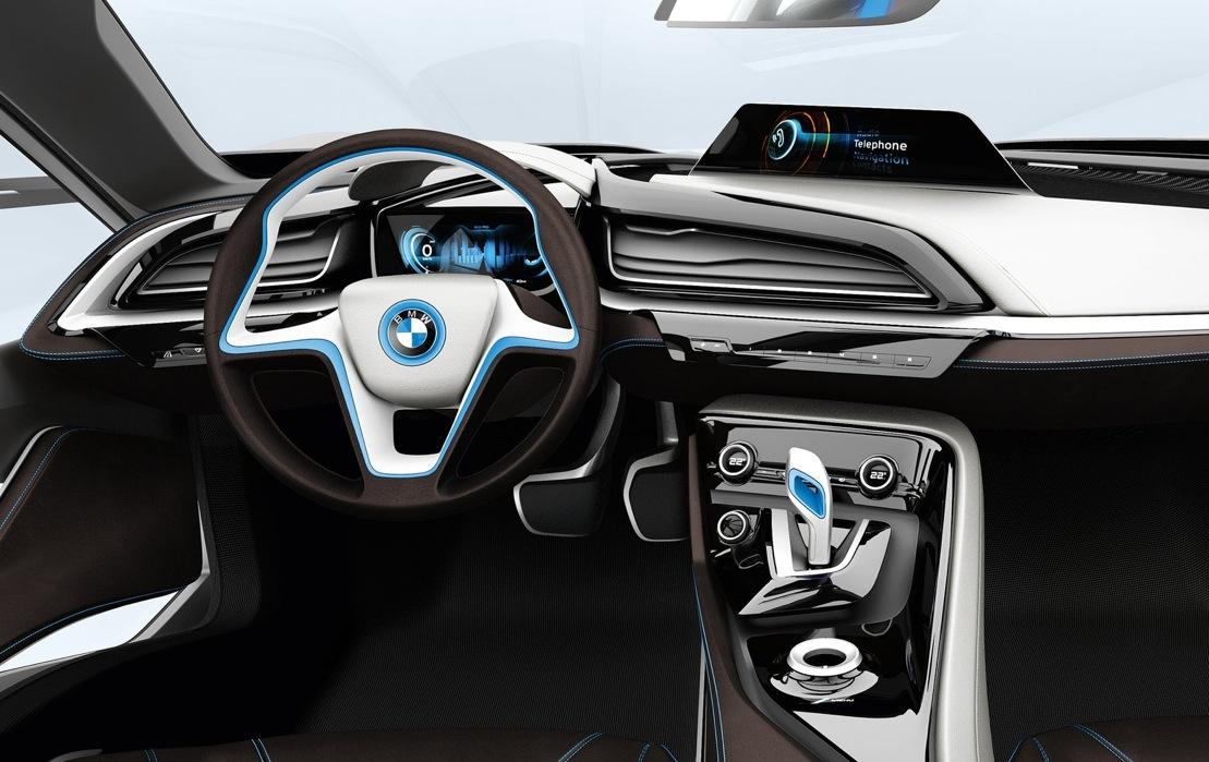 Spyshots Bmw I8 Interior Revealed Autoevolution