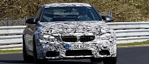 Spyshots: BMW M4 Arrives at the Nurburgring