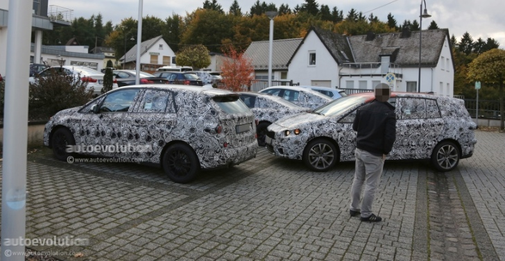 Spyshots: BMW's 5- and 7-Seater MPVs Scooped