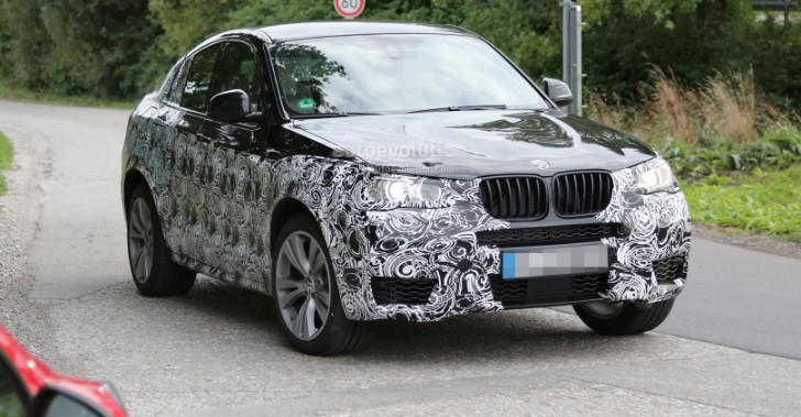 Spyshots: BMW X4 Shows Up on the Nurburgring for the First Time
