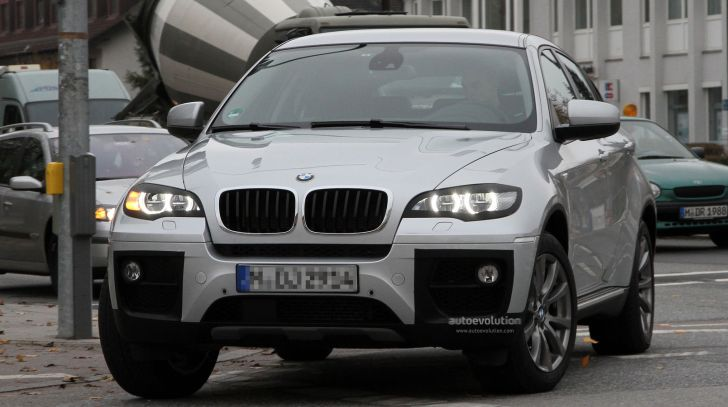 Spyshots: BMW X6 Facelift Loses Some Camo