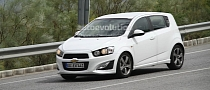 Spyshots: Chevrolet Aveo / Sonic RS in Europe
