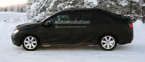 Spyshots: Citroen C4 4-Door Saloon