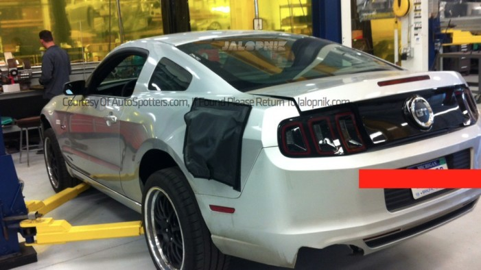 Spyshots Confirm 2015 Mustang Will Have an Independent Rear Suspension
