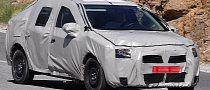 Spyshots: New Dacia Logan (Second Generation)